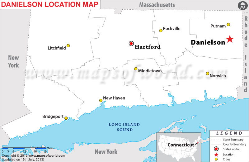 Hartford Connecticut Map Cities