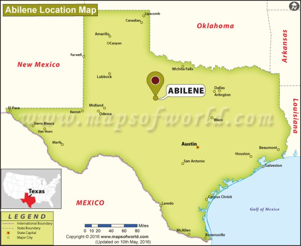 Where is Abilene Texas
