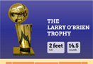 Larry O'Brian Trophy Infographic