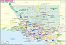 Los Angeles County Map