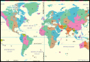 How many different time zones are there in the World?