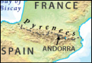 Where Are The Pyrenees Mountains Located?