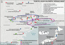 2020 Olympic Venue Map