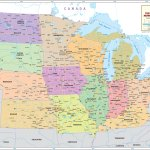 The Midwest Region Map Map Of Midwestern United States