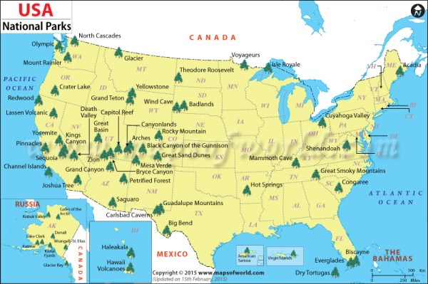 Id love to visit every US national park bucket list