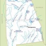 Alabama Rivers Map Rivers In Alabama