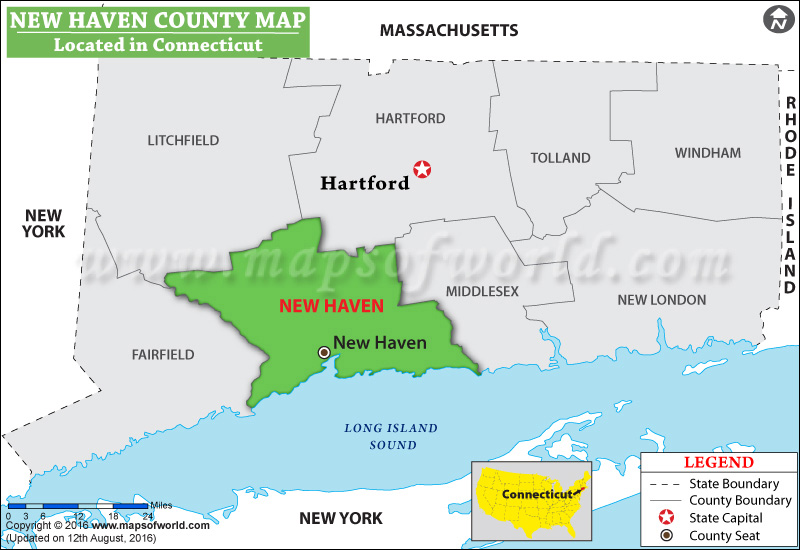 New Haven Ct Zip Code Map