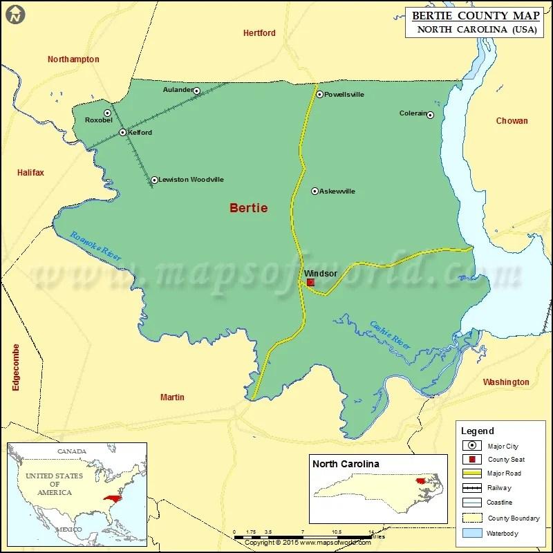 Map Alamance County North Carolina