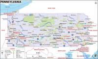 Pennsylvania Map, Map of Pennsylvania (PA)