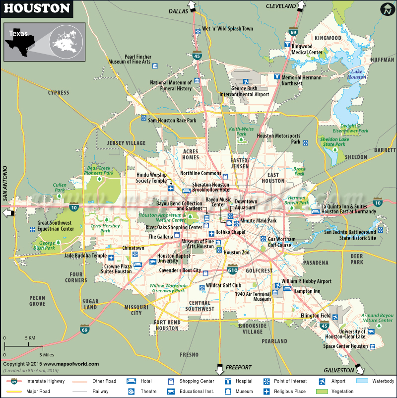 Airports Houston Tx Area
