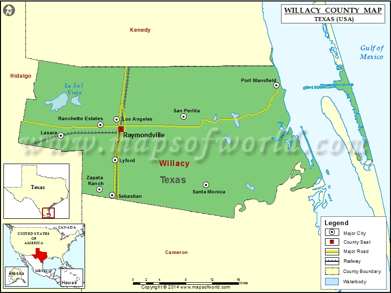 Texas Counties And Cities
