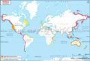 Tsunami Zones Around the World