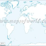 Printable World Map B W And Colored