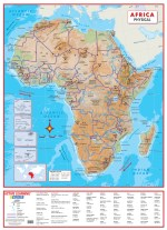 World political wall map national geographic executive africa physical wall map gumiabroncs Choice Image