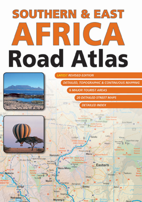 Southern, East Africa Road Atlas