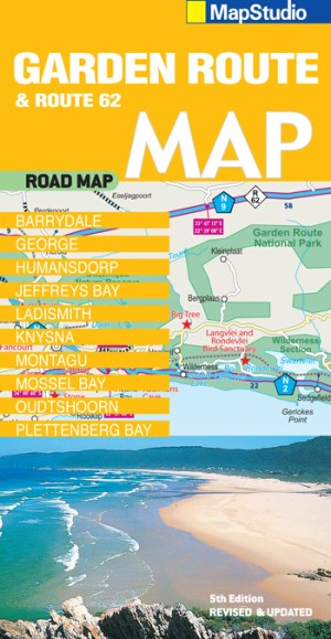 Garden Route, Route 62 Road Map - Previous Edition
