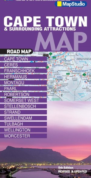 Cape Town, Surrounding Attractions Road Map