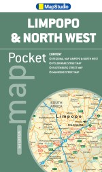 Limpopo, North West Pocket Map - ePDF