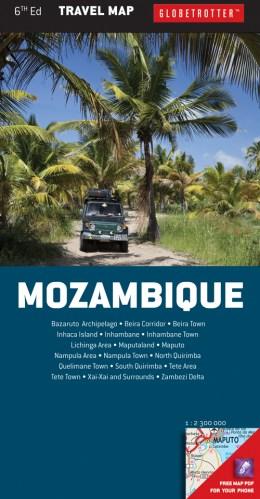 Mozambique Travel Map
