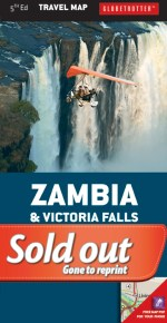 Zambia, Victoria Falls Travel Map