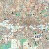 Johannesburg, Randburg, Sandton Wall Map