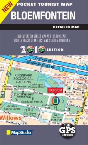 Bloemfontein Pocket Map -ePDF