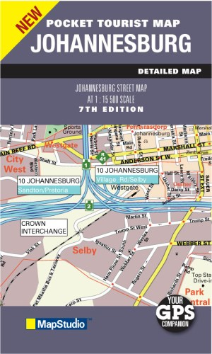 Johannesburg Pocket Map -ePDF