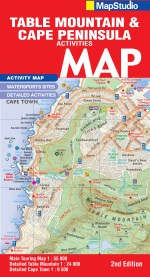 Table Mountain, Cape Peninsula Adventures Road Map