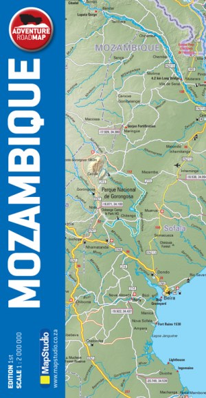 Mozambique Adventure Road Map