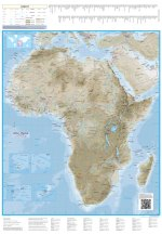 Africa Physical Globetrotter Map