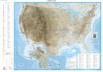 USA Physical Globetrotter Map - Front