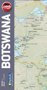 Botswana Adventure Road Map