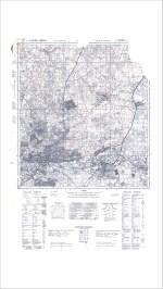 1944 Johannesburg Vintage Map