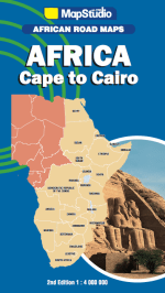 Cape to Cairo Road Map