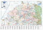 LIMPOPO PROVINCIAL WALL MAP
