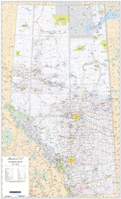 Alberta Provincial base map 1750000 This Provincial base map of Alberta is the largest map we