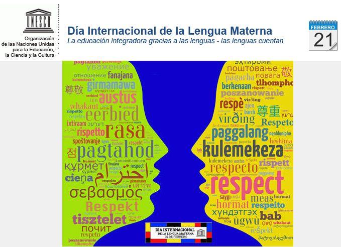 Resultado de imagen de dia internacional de la lengua materna