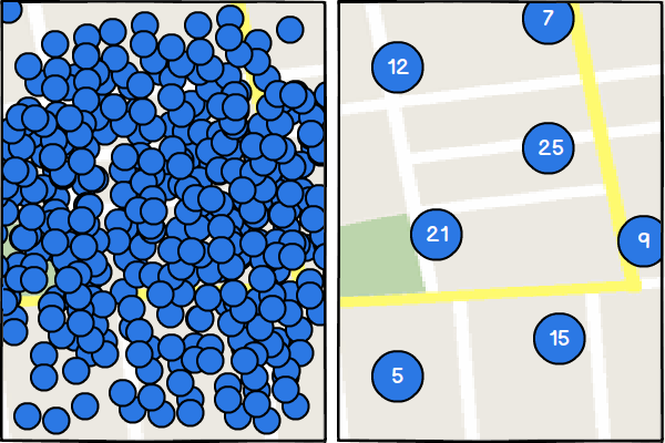 Cluster Marker