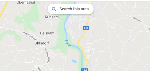 Google - Search this Area button