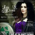 Ida Elena LIVE @ Planet Roma, 27 gennaio 2017