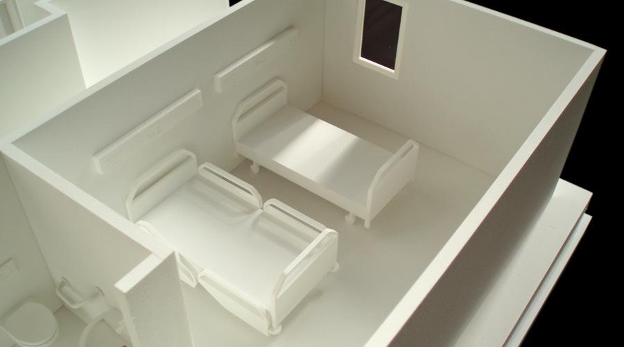 Atrium Maquetas Arquitectnicas  Maqueta de habitacin