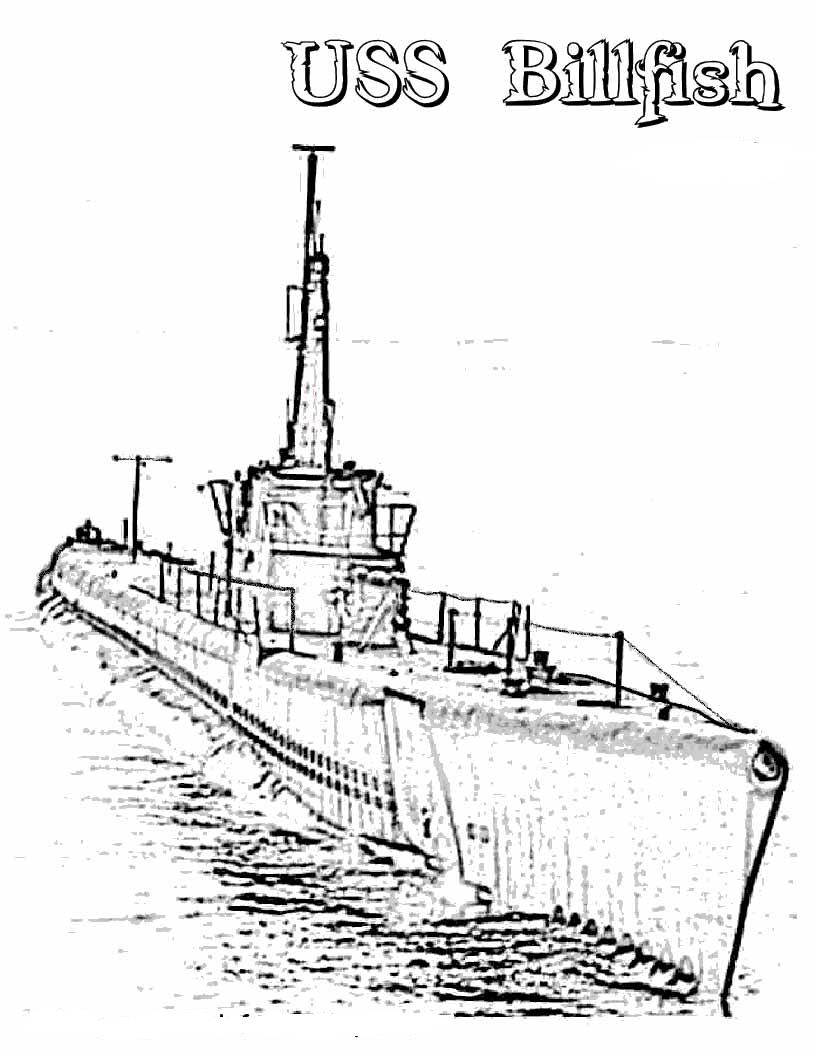 USS Bowfin (SS/AGSS-287) :Maquetland.com:: Le monde de la