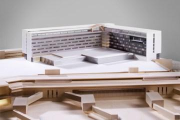 Marriott Hotel Model - Overall view