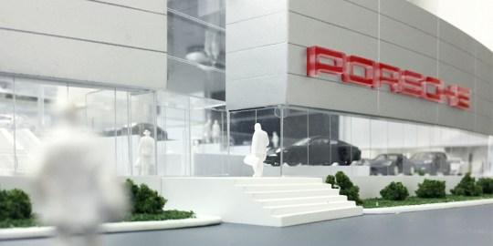Maquette Concessionnaire Porsche Prestige