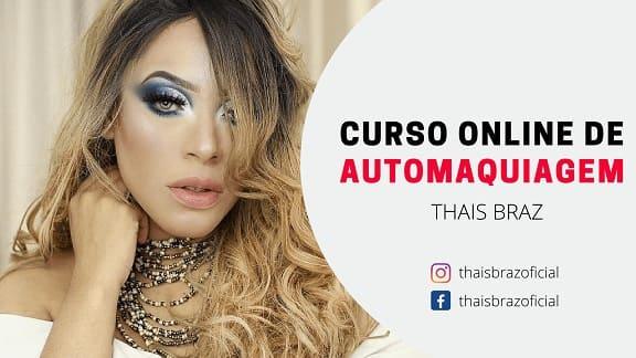 Curso de Automaquiagem - Thais Braz