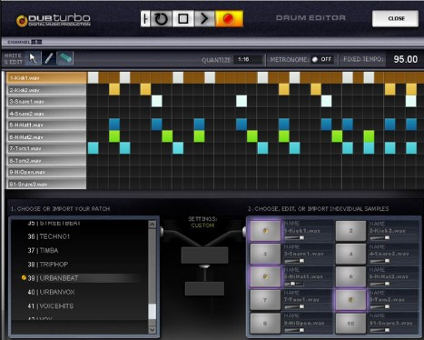 dub turbo beat making software