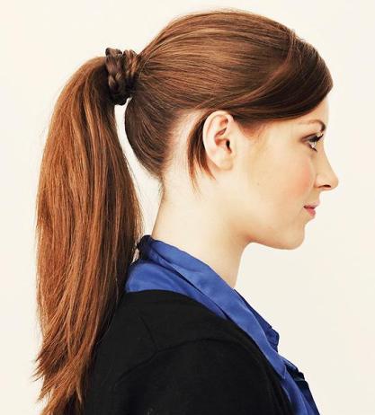 Resultado de imagen de cola de caballo peinado