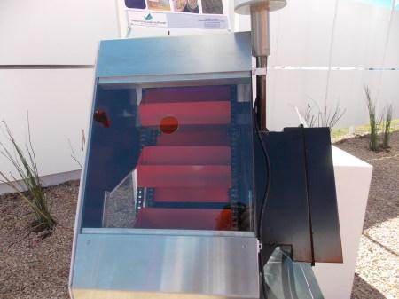 Sistema NIR-Crop Analyser Tecnocientifica