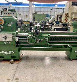 Torno paralelo marca Graziano modelo 22″ x 1.5 mts