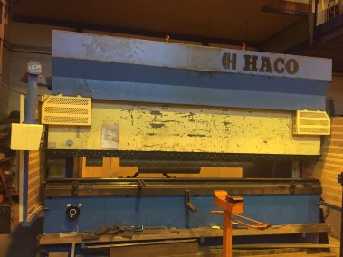 Plegadora HACO 3000x225Tn